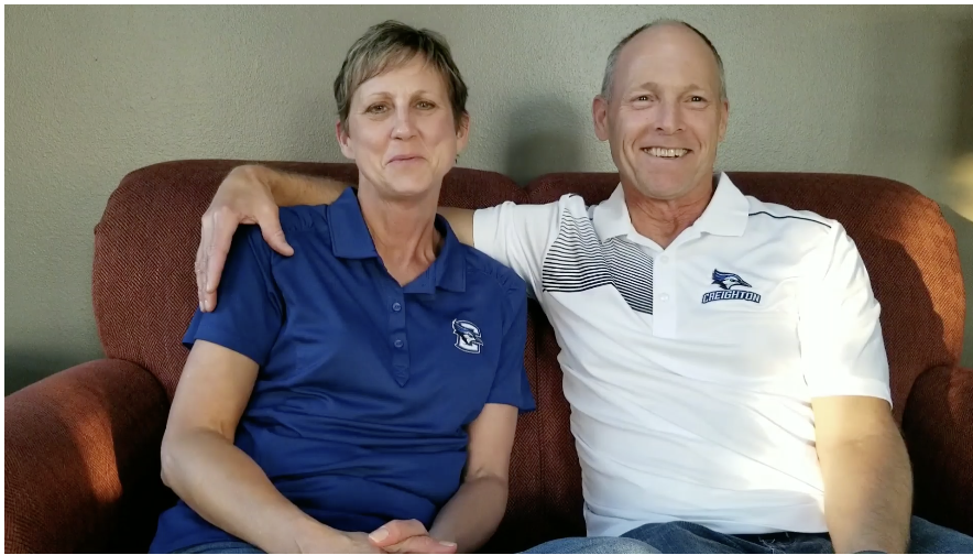 Creighton – Chad and Janet Farner