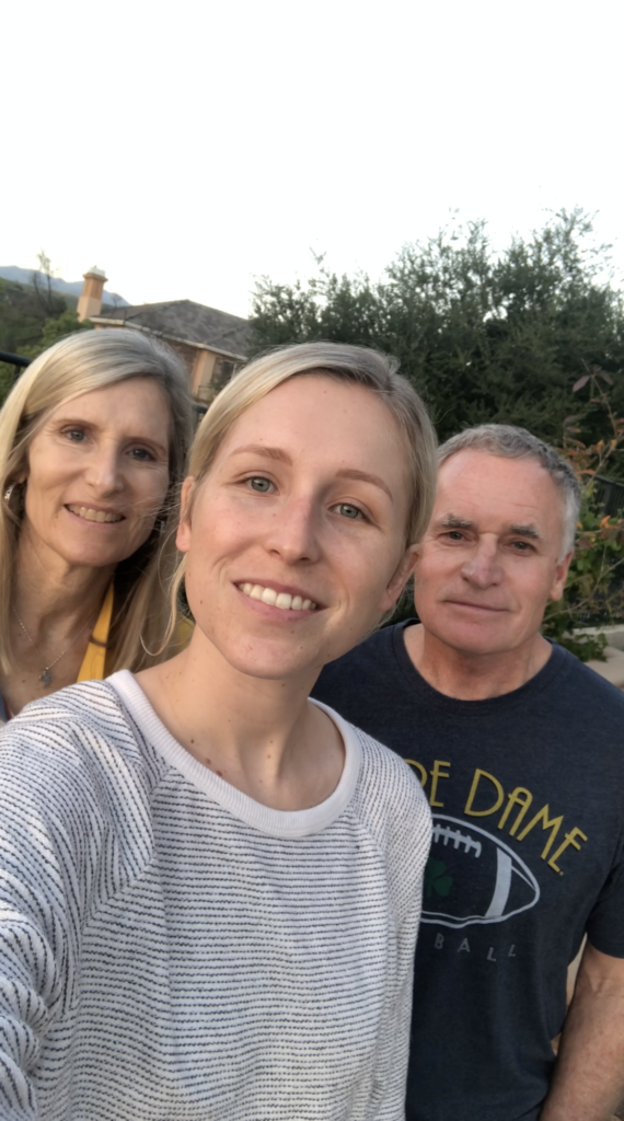 San Diego – Ed, Shari and Kierstyn Suda